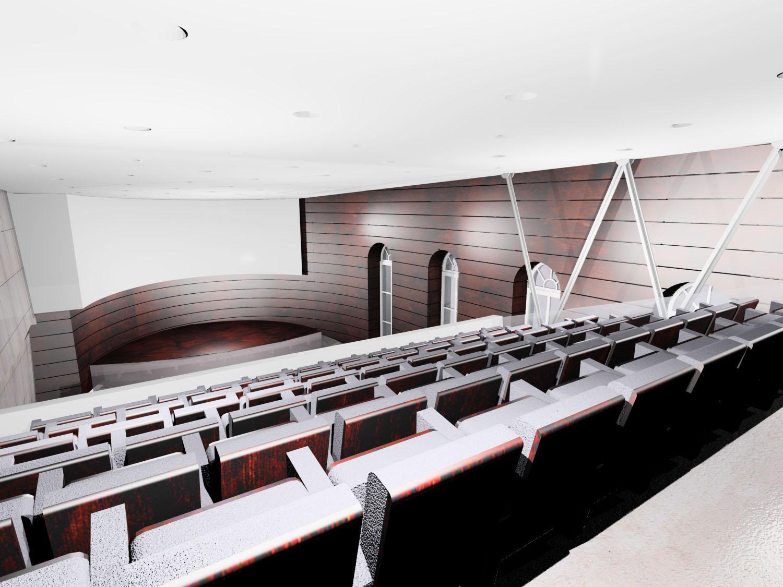 AccademiaDeiLincei_Vista sala lato galleria