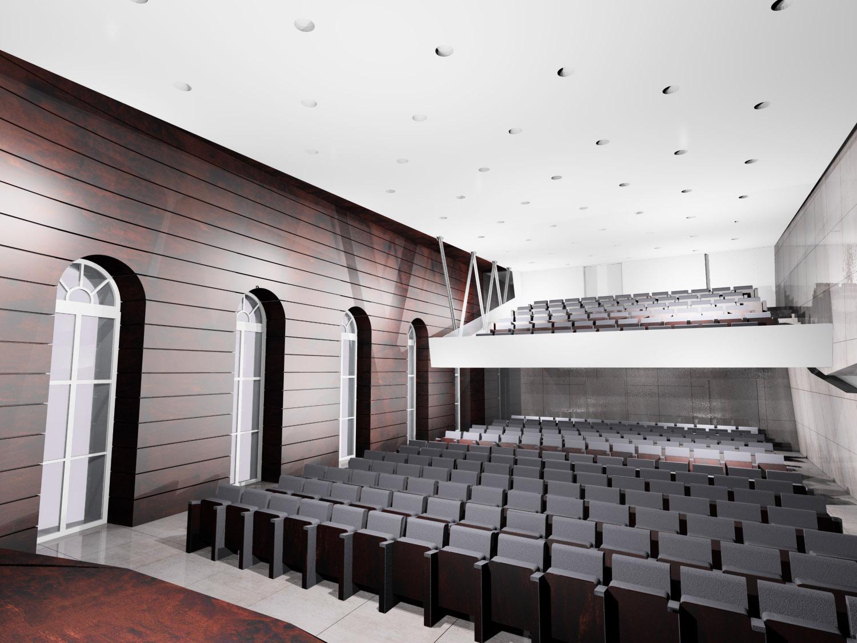 AccademiaDeiLincei_Vista sala lato palco