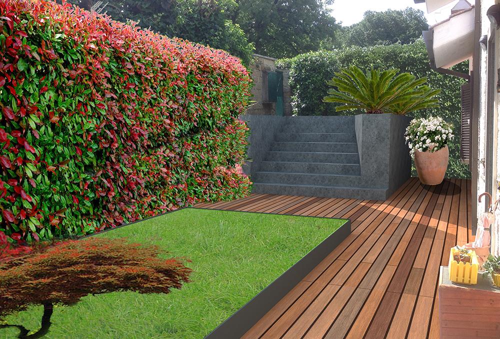 giardino privato i roma sperastudio srl