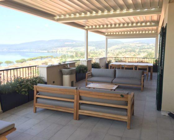 Restyling terrazza | Trevignano Romano